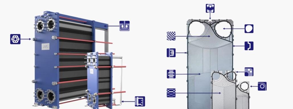 Características nueva gama intercambiadores de calor Alfa Laval
