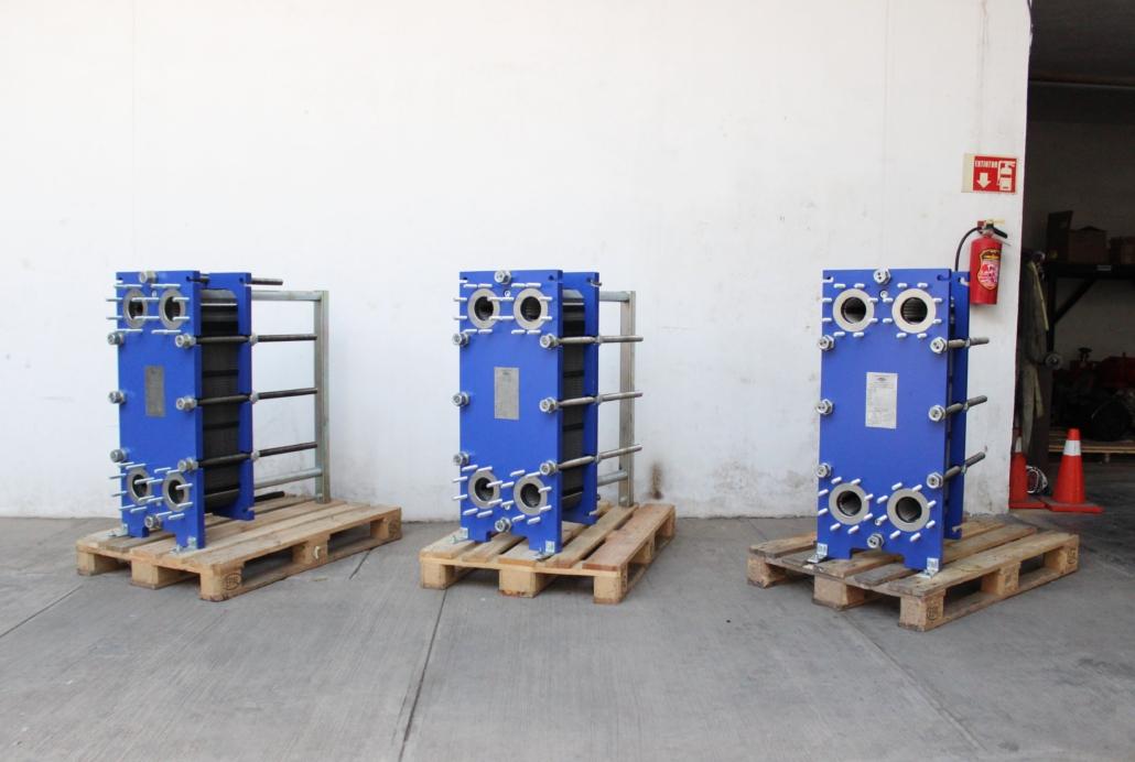 Intercambiadores de calor taller rybsa
