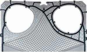 Nuevo diseño de placa alfa laval